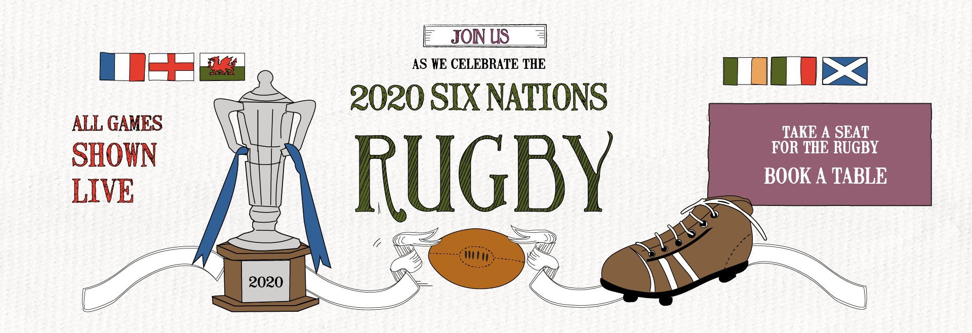Six Nations at The Adelphi