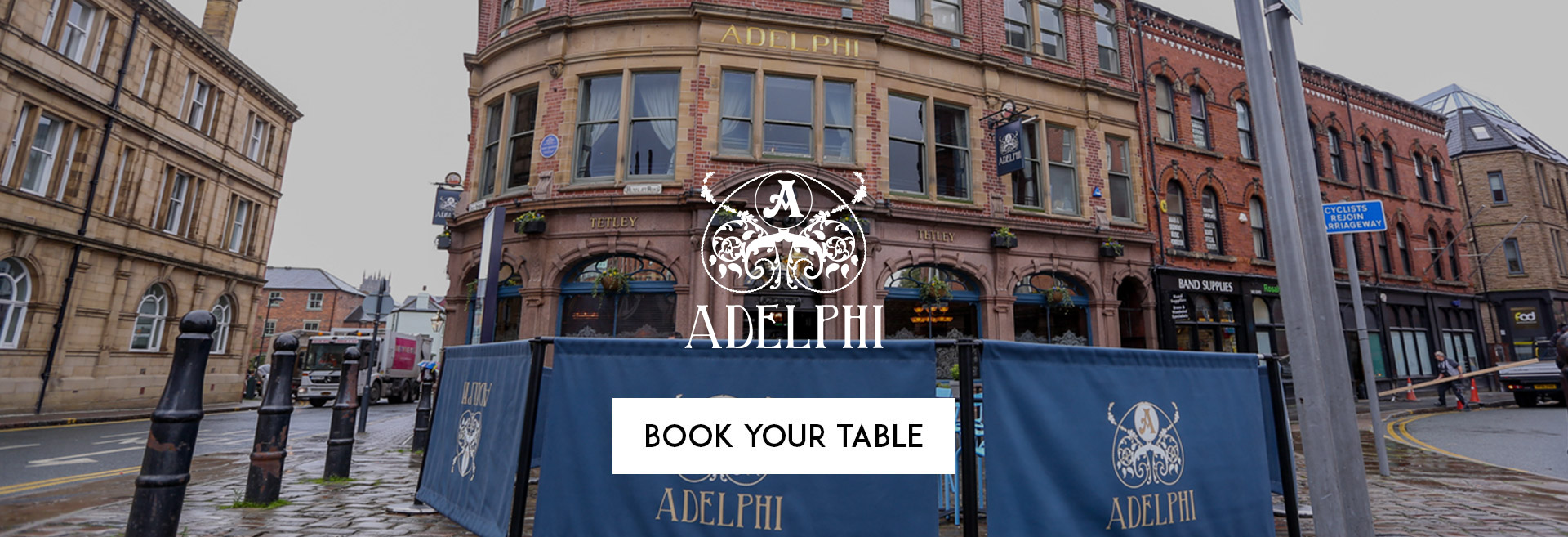 Book Your Table The Adelphi